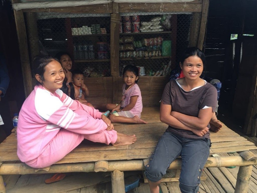 Not a WA group for this family in Toraja South Sulawesi, but a real face to face communication.